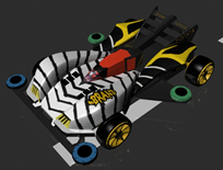 四驱车maya模型