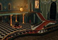 欧式古典室内场景3D模型