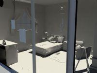 卧室maya模型