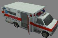 救护车max模型