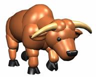 牛3D模型