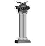 兽身柱,3d柱子模型