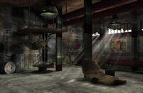 废弃工厂内部场景3D模型