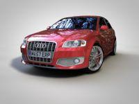 AUDI S3 奥迪 S3 3D模型下载