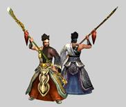 关羽,关云长,真三国无双游戏角色3D模型