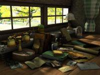 书桌,窗台,艺术写生,艺术场景3D模型