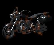 恶灵骑士摩托,灵魂战车3D模型