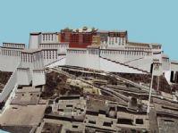 西藏布达拉宫3D模型