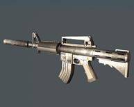 m4a步枪3D模型