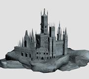 古堡,城堡3D模型