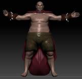 武士,战士maya模型