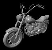 摩托车max模型