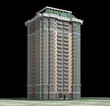 大楼,大厦,现代建筑3D模型