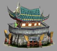 真三国无双中的场景建筑3D模型