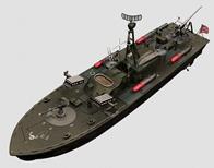 军舰,攻击舰3D模型