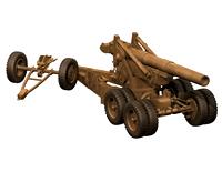 高炮,迫击炮3D模型