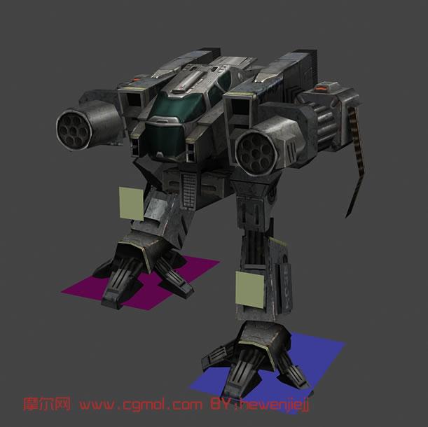 机器人3d模型,科幻角色