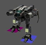 战斗机器人3D模型