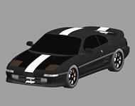 丰田MR2汽车3D模型