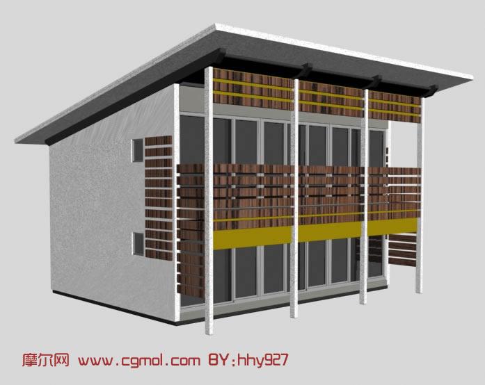 立体房子简笔画图片 最简单的立体画怎么画房子简