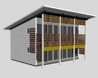 简单房屋,住宅,住房,房子3D模型