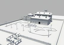 一家福利院,maya模型