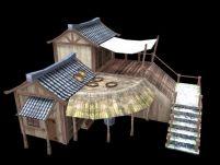 古代民宅,游戏场景maya模型(贴图全)
