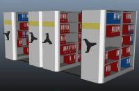 文件柜,文件架,书架maya模型