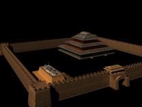古建城墙3D模型