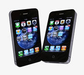 iphone4手机max模型