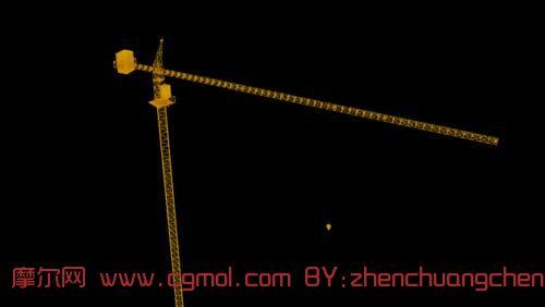 塔吊,建筑机械,max模型