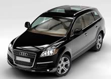 Audi奥迪Q5,Q7,maya汽车模型