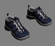运动鞋,旅行鞋,网球鞋3D模型