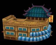 海鲜楼,酒楼,酒店,古代建筑3D模型