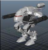 机械战甲,机器人3D模型