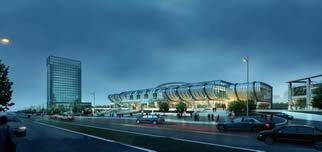 城市设计方案,城市设计鸟瞰3D模型