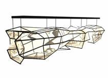 酷炫科技灯具,吊灯3D模型