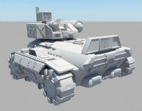 装甲车,坦克车maya模型