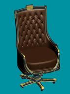 欧式古典椅子3D模型