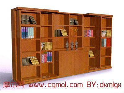 书架3D模型