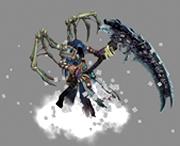 暗黑血�y2收割者形态,3D次时代游戏角色模型