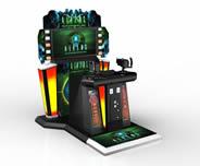 电玩城射击游戏机3D模型