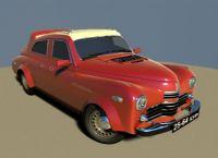 老爷车3D模型