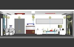 温馨小窝,卧室3D模型