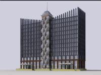 办公大厦,写字楼,办公楼3D模型