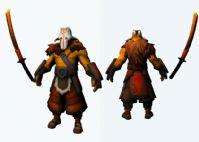 Dota 2中的剑圣,3D次时代游戏角色模型