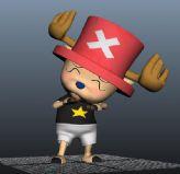 原创海贼王乔巴3D模型