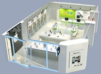 江津3G体验馆,3G体验店3D模型