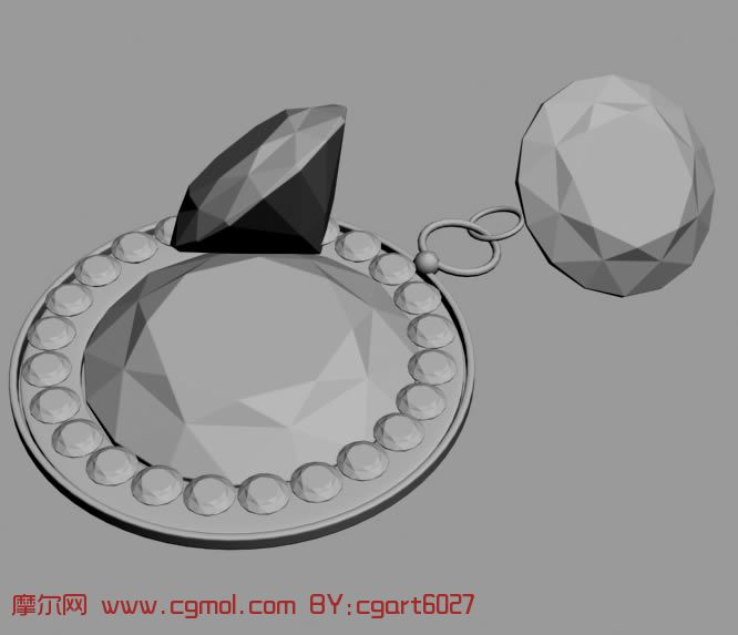 钻石,珠宝3D模型