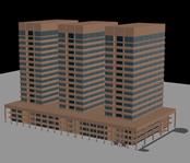 大厦,高楼,办公楼3D模型